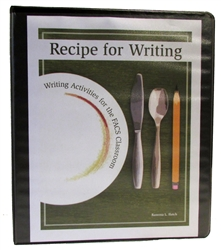 Recipe for Writing