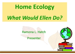 Home Ecology, The FACS of Living Green